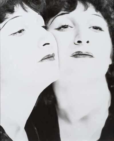 Erwin Blumenfeld, 'Portrait in Mirror, France', 1938