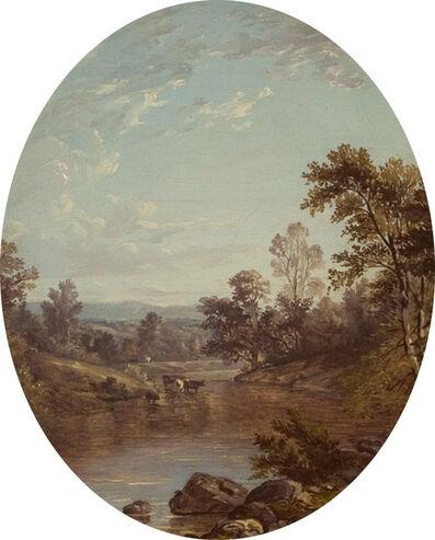 John William Casilear, 'View to the Catskills', 1850