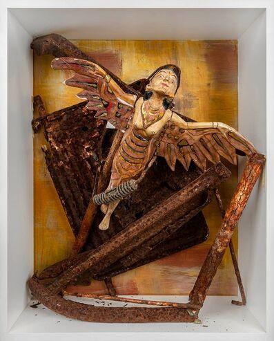 Harry de Winter, 'Bali angel on rust', 2019