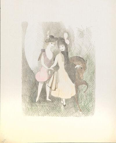 Marie Laurencin, 'Le Poney (2e planche)', 1924