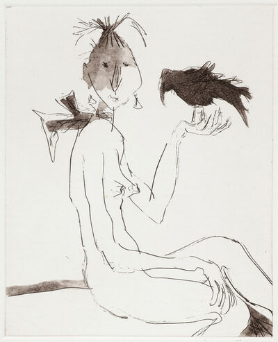 Quentin Blake, 'Women with Birds I', 2012