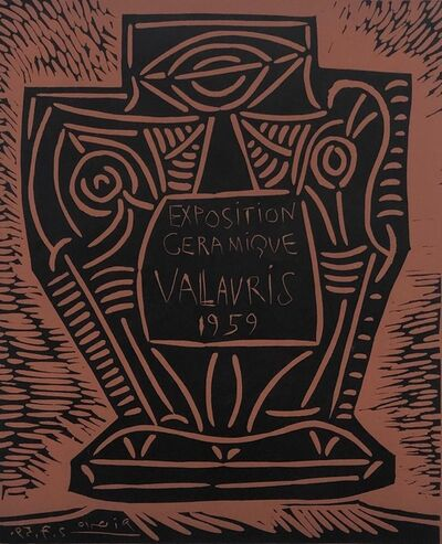 Pablo Picasso, 'Exposition Céramique Vallauris 1959', 1959