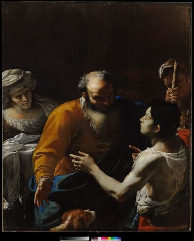 Mattia Preti, 'The Return of the Prodigal Son', 1600-1700