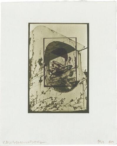 Robert Rauschenberg, 'WHITE PENDULUM (S. 105)', 1980