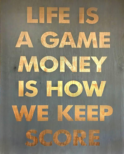 William Finlayson, 'Life is a Game', 2016