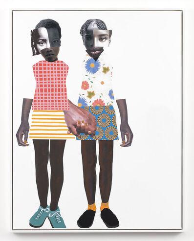 Deborah Roberts, 'Don't let go (RR)', 2019