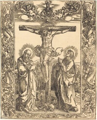 Albrecht Dürer, 'Christ on the Cross', 1516