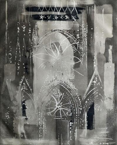 John Piper, 'Rheims Cathedral', 1972