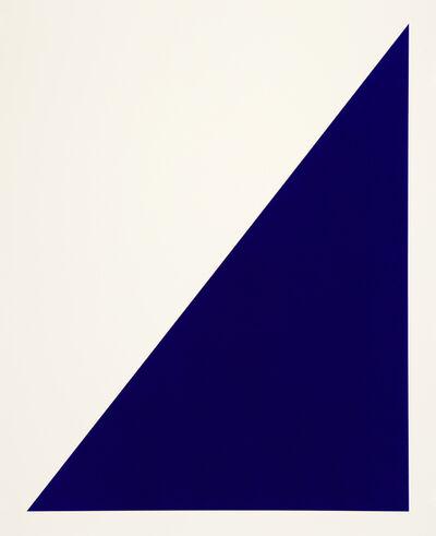 Rupert Deese, 'Rivers & Mountains/10, Blue Sail', 2018