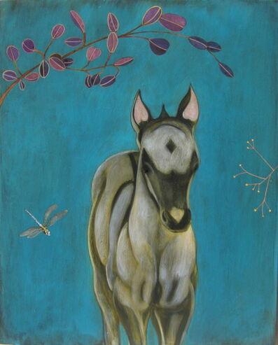 """Phyllis Stapler, '""""Dun Horse""""', 2016"""