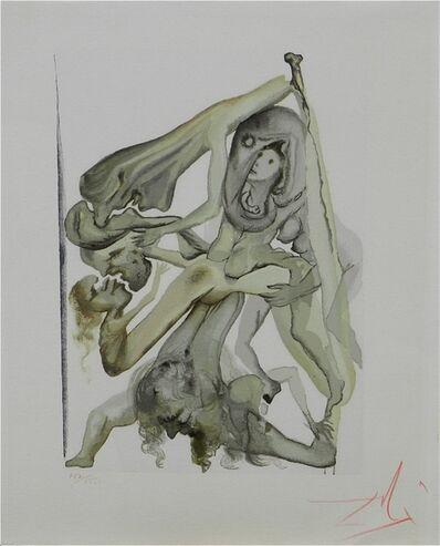 Salvador Dalí, 'Divine Comedy Hell Canto 11', 1967