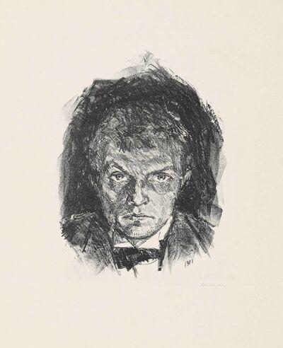 Max Beckmann, 'Self-Portrait', 1911
