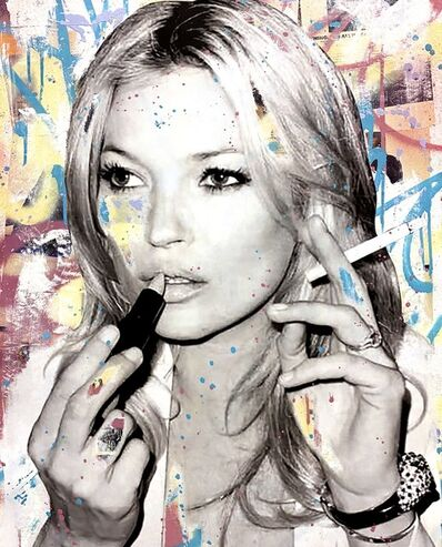 Seek One, 'Smoking Kate Moss', 2021