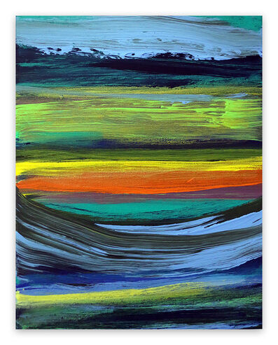 Deanna Sirlin, 'Where to go (Abstract painting)', 2021