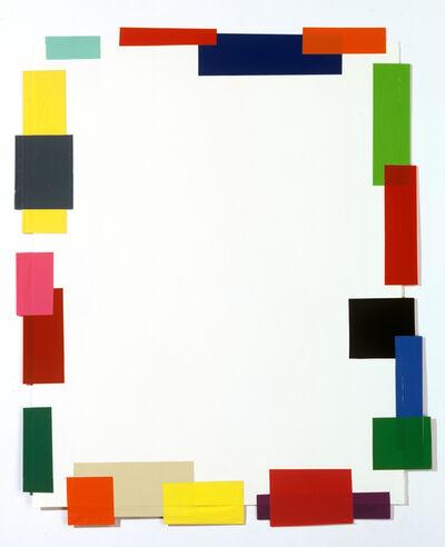 Beat Zoderer, 'Front - Backside (B)', 1997