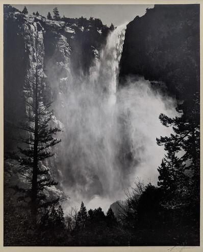 Ansel Adams, 'Bridalveil Falls, Yosemite National Park', 1960