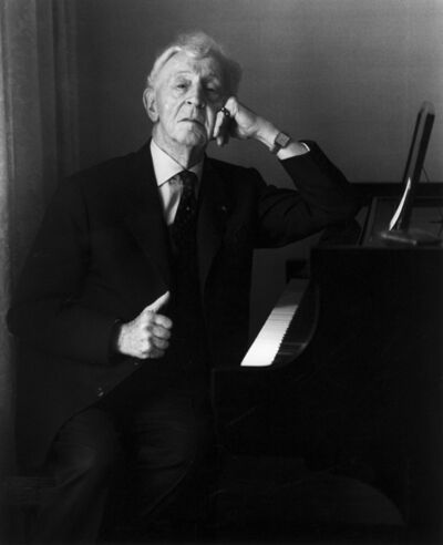 Evelyn Hofer, 'Arthur Rubinstein, New York', 1975