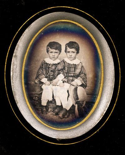 Daguerreotypes, 'Twin Boys', 1855c/1855c