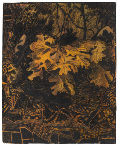 Mark Mahosky, 'Oak Leaves, Big Round Top, Gettysburg', 2005