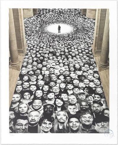 JR, 'Inside Out, Au Pantheon, NEF, Paris, France, 2014', 2014