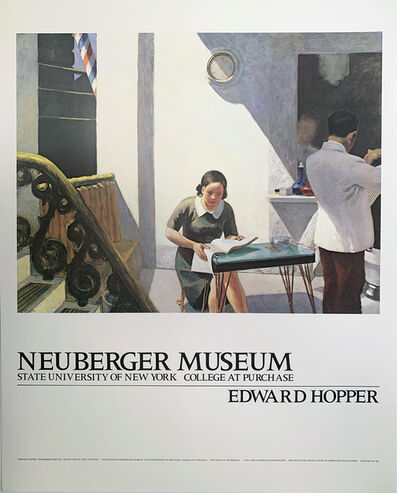Edward Hopper, 'Edward Hopper, Neuberger Museum, State University of New York, College at Purchase, HOLIDAY SALE $150 OFF THRU MAKE OFFER', 1981