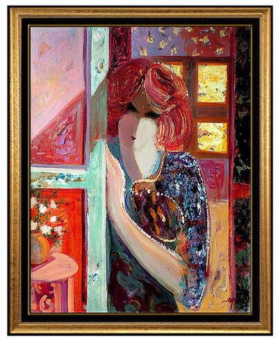 Mahmood Sabzi, 'Mahmoud Sabzi Rare Oil On Canvas Original Painting Signed Authentic Framed Art', 2008
