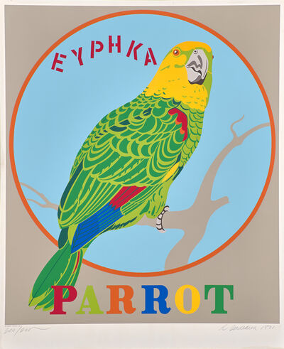 Robert Indiana, 'Parrot, from Decade', 1971