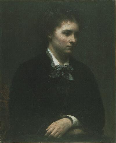 Henri Fantin-Latour, 'Portrait of Miss Edith Crowe', 1874
