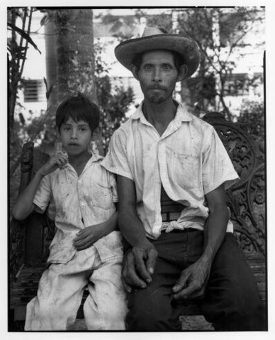 Danny Lyon, 'Campesino and son, Tamazunchale, Mexico', 1973