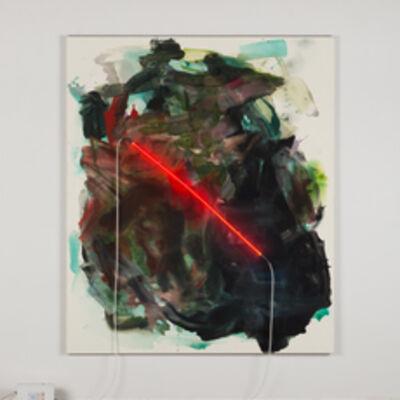 Mary Weatherford, 'Arcadia', 2014