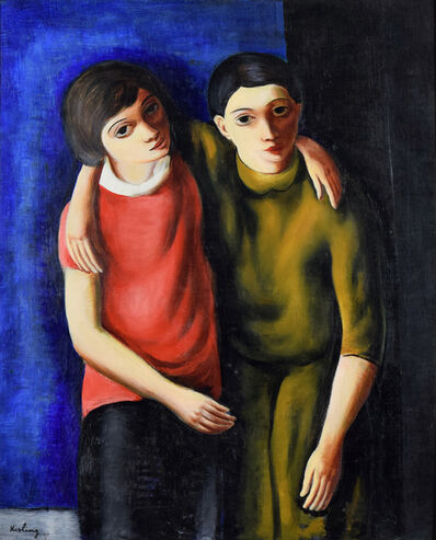 Moise Kisling, 'Frère et Sœur', 1925