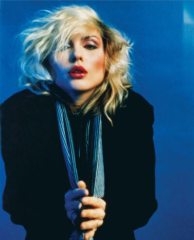 Mick Rock, 'Blue Debbie Harry, New York ', 1978