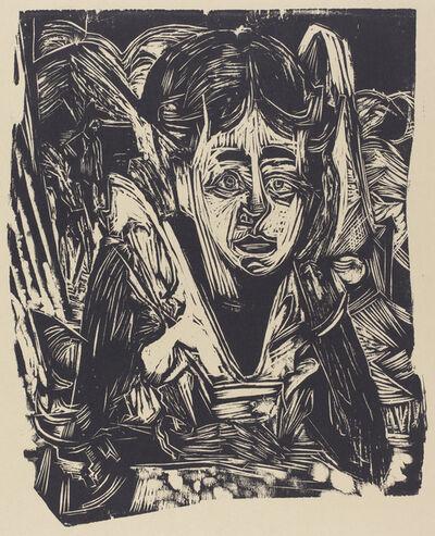 Ernst Ludwig Kirchner, 'Girl Dreaming', 1918