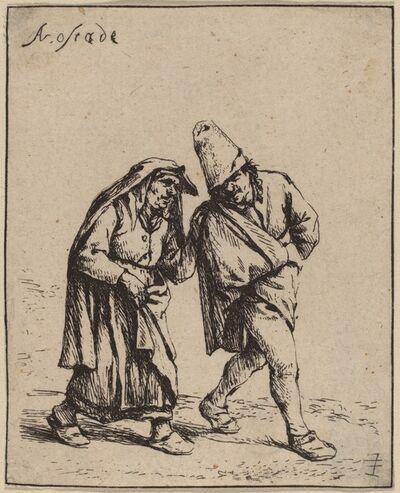 Adriaen van Ostade, 'Couple Walking', probably 1638