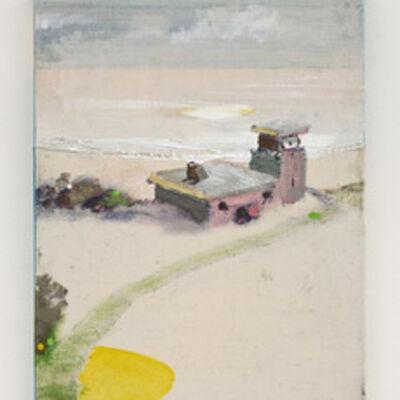 Merlin James, 'Building by water', 2005-2011