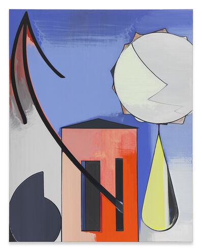 Thomas Scheibitz, 'Porträt Haus 921', 2017