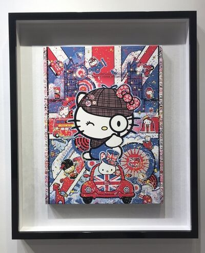 Sean Danconia, 'Hello Sherlock Kitty', 2018