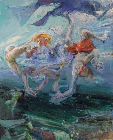 Johannes Heisig, 'Luft anhalten', 2018