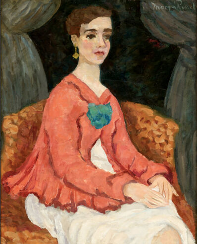 Morgan Russell, 'Portrait of a Woman', 1926