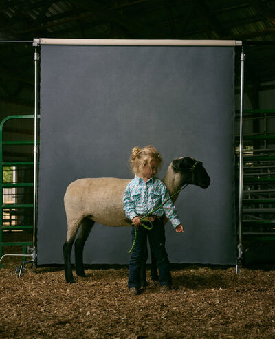 R. J. Kern, 'Rylee and Nelly, Clay County Fair, Minnesota, 2016', 2016