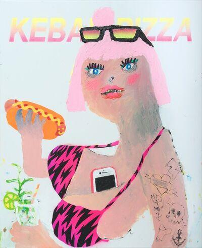 Bel Fullana, 'Kebab Pizza', 2019