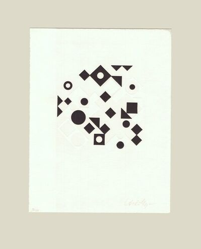 Victor Vasarely, 'Anole', 1980-1990