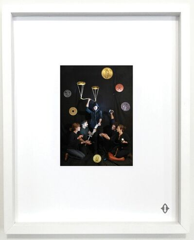 "Tony Oursler, 'SIX OF COINS, From the series ""Contemporary Magic: A Tarot Deck Art Project"" Limited Edition 5th Anniversary Print Collection', 2015"