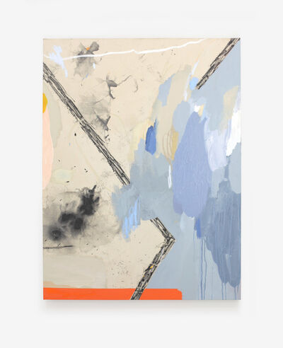 Ellen Rutt, 'I Made This Painting In A Dumpster And A Toilet And It Looks Harmless But It Might Be A Biohazard', 2020