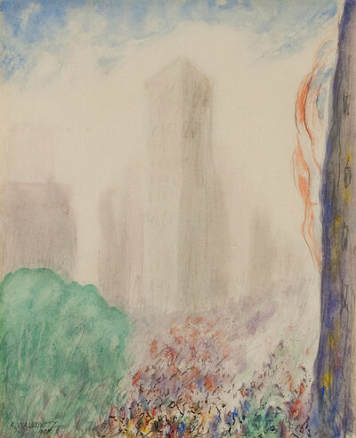Abraham Walkowitz, 'New York', 1908