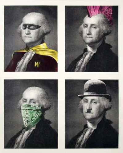 Mr. Brainwash, 'President's Day (Washington Quad)', 2018
