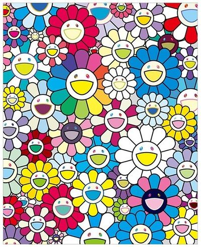 Takashi Murakami, 'Flowers on the Island Closest to Heaven', 2018