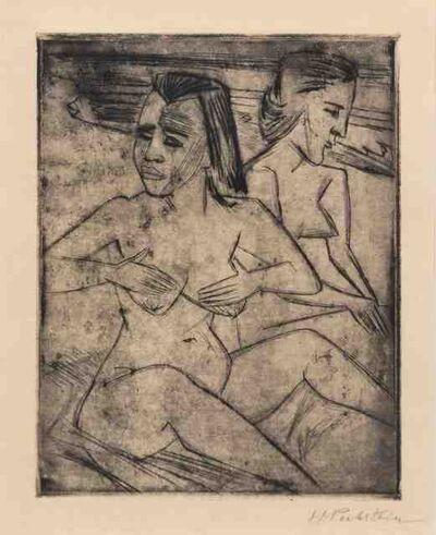 Max Pechstein, 'Nach dem bad', 1920