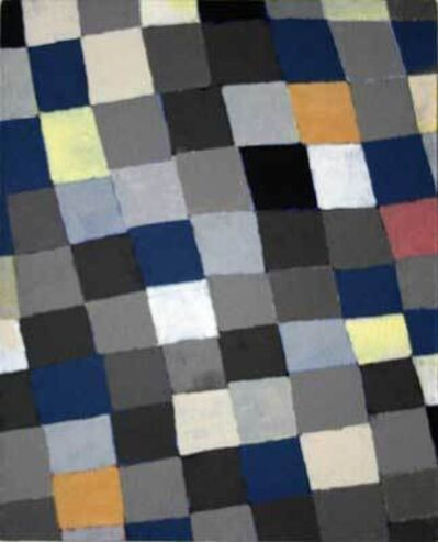 JCJ VANDERHEYDEN, 'Grey-Yellow Checkerboard', 2007