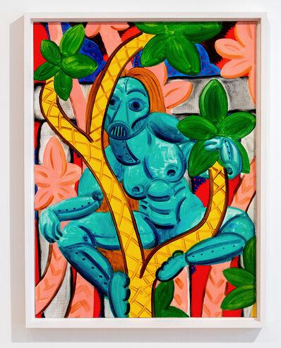 André Ethier, 'Untitled (Blue Figure)', 2017